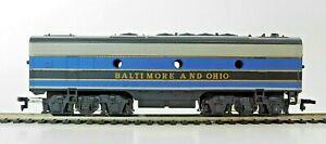 Mantua / Tyco T229A - EMD F9B Diesel Locomotive Unpowered - Baltimore & Ohio HO