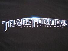 Official TRANSFORMERS Dark of the Moon Movie T-Shirt S Black Short Sleeve Punk