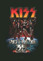 KISS FLAGGE FAHNE DESTROYER 35th ANNIVERSARY POSTERFLAGGE POSTER FLAG STOFF