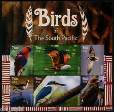 Birds of the South Pacific 2015 MINI FEUILLE DE 6 Timbres MNH Océanie