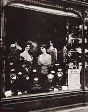 1900/63 Vintage 11x14 SALON Barber Shampoo Hair Paris France Photo EUGENE ATGET
