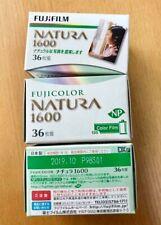 Fuji FUJICOLOR 1600 35mm 36ex color film set of 3   Expired 2019 DHL ship