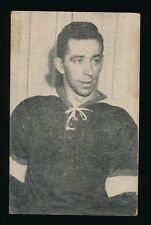 1952-53 St Lawrence Sales (QSHL) #75 GILLES DUBE (Sherbrooke) -Red Wings