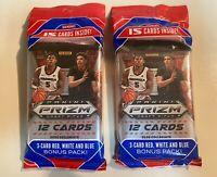 2020-21 Panini Prizm Draft Picks Basketball Cello Fat Pack - Lot of 2