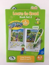 NEW LeapFrog Tag LeapReader LEARN TO READ 6 BOOK SET VOLUME 2 Long Vowels