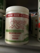 """Hawaiian Silky Creme Conditioning No Lye Relaxer Can't touch It """" Super 20oz"""