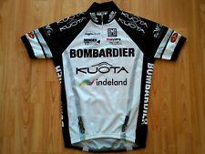 Bombardier Kuota 2009 Santini professional cycling team SS Jersey Gr: S NEU !
