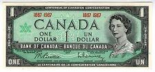 **   CANADA     1  dollar   1967   p-84a    UNC   **