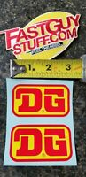 Vintage BMX DG decals sm2 Race Inc. SE Racing Haro FMF old school VMX AHRMA