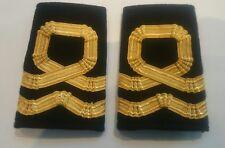 Sea Cadet Corps Lieutenant Gold RNVR Epaulettes Slides SCC