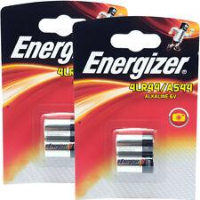 4 x Energizer 4LR44 6V Alkaline Battery A544 3131 PX28A