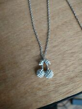 Swarovski Crystal Cherry Pendant Necklace