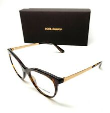 Dolce & Gabbana DG 3316 502 Havana Women's Authentic Eyeglasses Frame 52-18