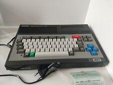 Genuine Toshiba Home Computer HX-10 64k MSX Console Retro Tested and Working