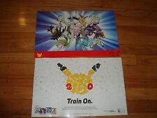 GameStop Exclusive 20th Anniversary Pokemon Day Poster 11x17 DS POKEMON GO