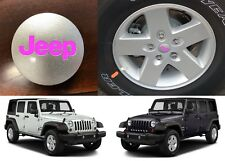 Pink Center Cap Decals For 2007-2018 Jeep Wrangler JK New Free Shipping USA
