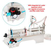 NEW MAX 1000ML PNEUMATIC  LIQUID FILLING MACHINE FOR SHAMPOO,OIL,WATER PERFUME