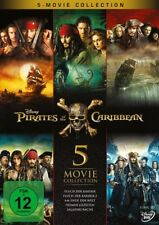 Pirates Of The Caribbean 5-movie Collection 5 DVDs