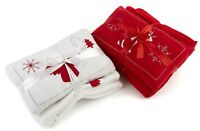 Soft Fleece Cushion Throw Blanket Bundle Set Christmas Xmas Festive Gift Decor