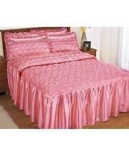 Trapunte e copriletti raso rosa