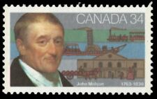 "CANADA 1117 - John Molson ""Entrepreneur"" Dull Paper (pa89015)"