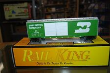 O RailKing 30-7456 * Burlington Northern Box Car, Nice w/Box