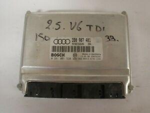 calculateur Audi Bosch , 5 prises,  0281001938 / 3B0907401 (réf 4875)