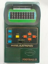 New ListingVintage 1978 Mattel Electronics Football 2 Hand held Game (Tested) Free Shipping
