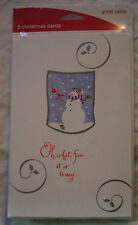 Christmas Holiday Snowman Packaged Cards Assortment - Greeting Cards