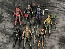 Gi Joe Classified Loose Lot Wave 1 & 2