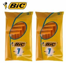BIC 1 High Quality Head Beard Sensitive Shavers Disposable Razors Men - 5 10 20
