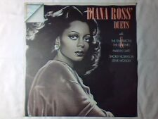 DIANA ROSS Diana's duets lp ITALY SUPREMES TEMPTATIONS MARVIN GAYE STEVIE WONDER