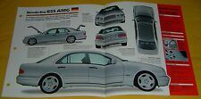 1997 1998 Mercedes Benz E55 AMG V8 5439cc 354 hp IMP Info/Specs/photo 15x9