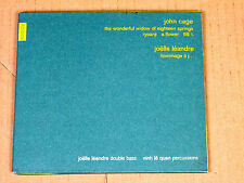 CD John Cage the Wonderful Widow of ... Jöelle Léandre - Montaigne Naïve