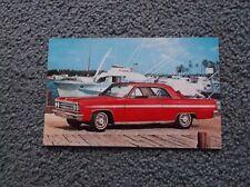 1963  Olds postcard red 2 dr postcard