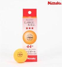 Nittaku Table Tennis, ping pong NB-1010 3-Star Ball (3balls) Orange