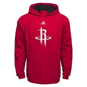 Houston Rockets Youth Adidas NBA Pullover Hooded Sweatshirt