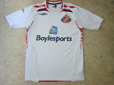 Sunderland AFC Away Shirt 2007/08 -  Umbro - Adult Small