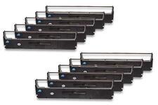 10x Ruban Cassette Cartouche Noir Nylon pour Epson LX 300, LX 300+, LX 300+II