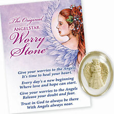 AngelStar Angel of Peace Dove Hurt Worry Pocket Purse Stone Token 8719