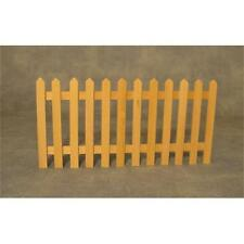 Picket Fence for 1:12 scale Dolls House Garden 75mm High x 150mm Wide