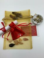 Old Witch Secret GET WHAT YOU WANT- WISHING Mojo Bag Spell Wicca Paganism