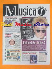 rivista MUSICA! REPUBBLICA 63/1996 Jonny Rotten Prince Patty Smith S.Crow No*cd