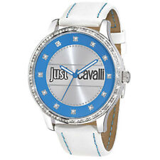 JUST CAVALLI orologio donna Huge cassa grande da 46 mm quadrante azzurro
