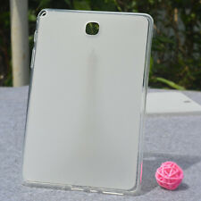"""ER Transparent TPU Soft Case Cover For 8"""" Samsung Galaxy Tab A T350 T355 Tablet"""