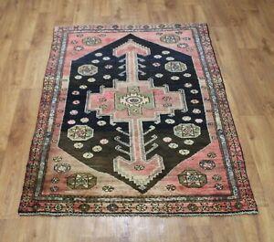Traditional Vintage Wool Handmade Classic Oriental Areas Rug Carpet 173 X110 cm