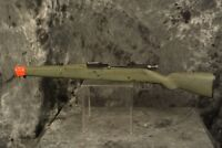 Vintage Marx Bolt Action Green Training Cap Rifle Loose Broken Barrel VHTF