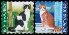 Faroe Islands 2011, Animals, Cats, set of 2, UNM / MNH
