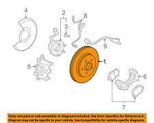 GM OEM Front Brake-Disc Rotor 20892949