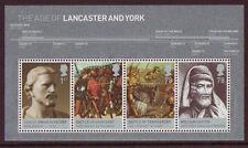Gran Bretaña 2008 Lancaster y York Miniatura Hoja Menta desmontado
